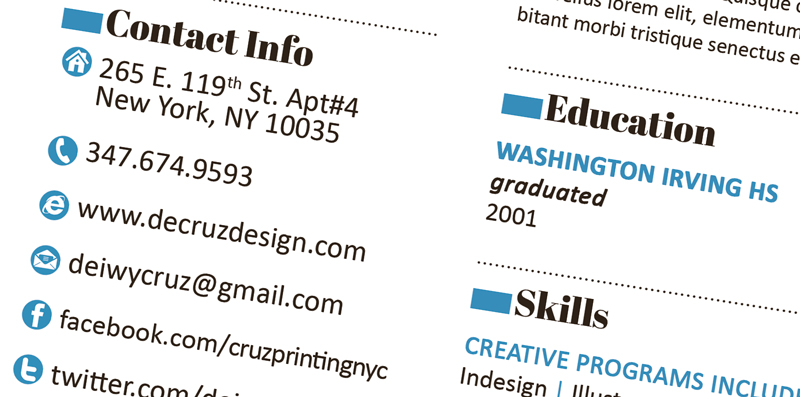 Creative Resume Templates Free Word | Sample Resume And Free