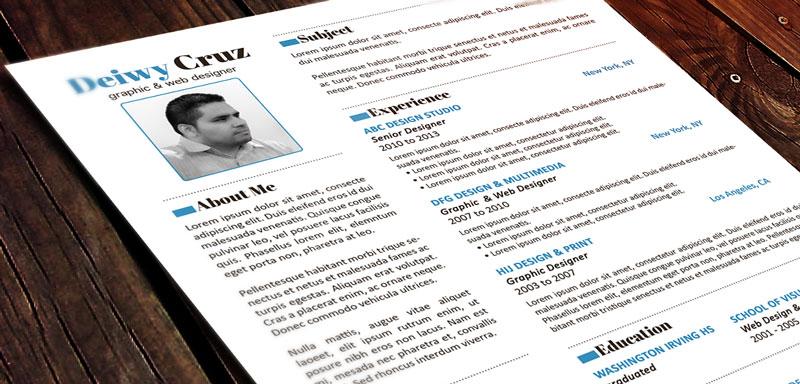 Premium resume